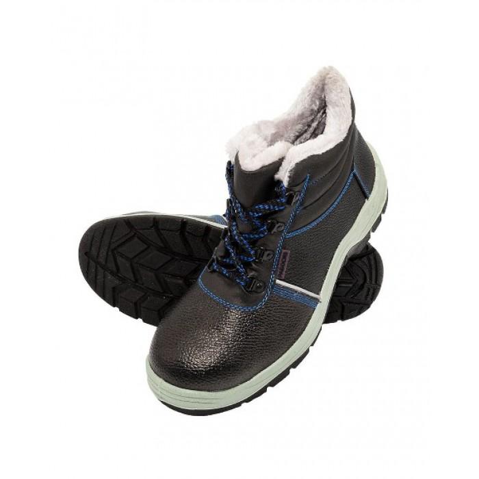 Ботинки ПУ   МП с искусственным мехом