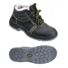 Ботинки юфть ПУП МБС с искусственным мехом