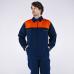 Костюм Союз (тк.Саржа,230) брюки, т.синий/оранжевый