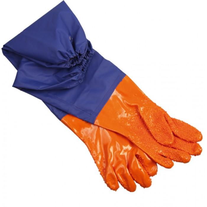 Перчатки для рыбообработки с нарукавником