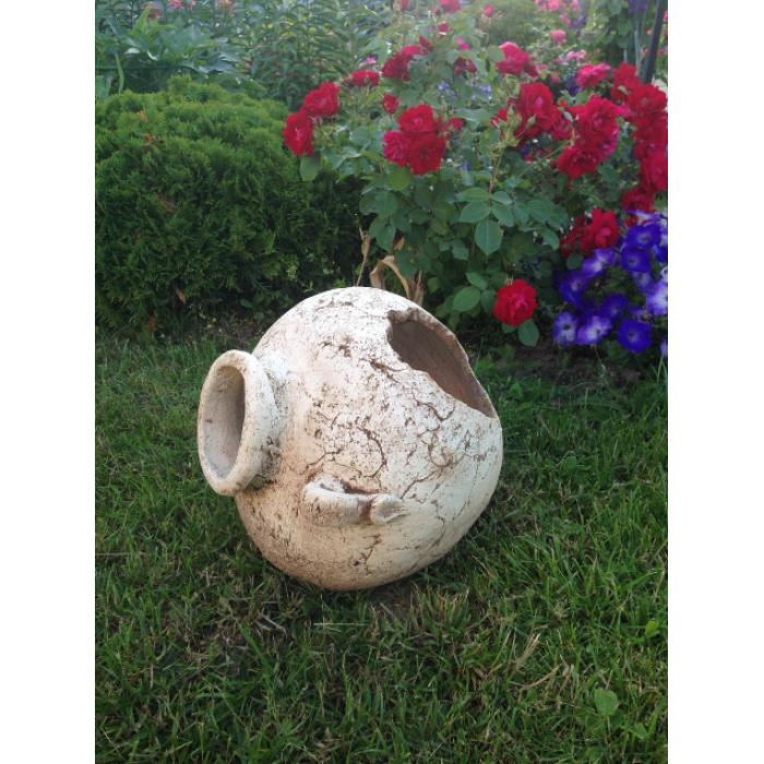 """Ваза """"Эгейская"""" большая производство Скопинская керамика"""